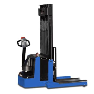 Powered Drive Straddle Truck In Pallet Racking Systems Mississauga